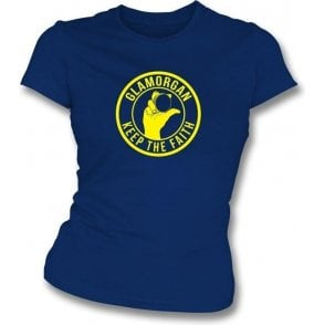 Glamorgan Keep The Faith Women's Slimfit T-shirt