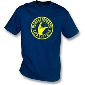 Gloucestershire Keep The Faith T-shirt
