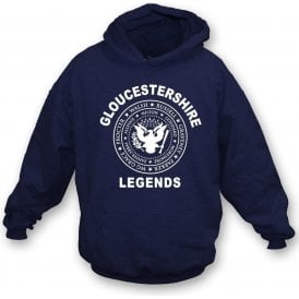 Gloucestershire Legends (Ramones Style) Kids Hooded Sweatshirt