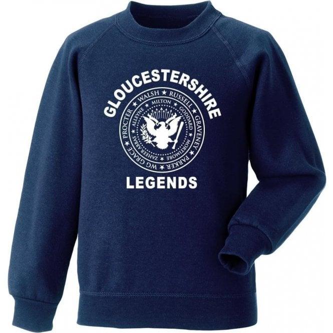 Gloucestershire Legends (Ramones Style) Sweatshirt