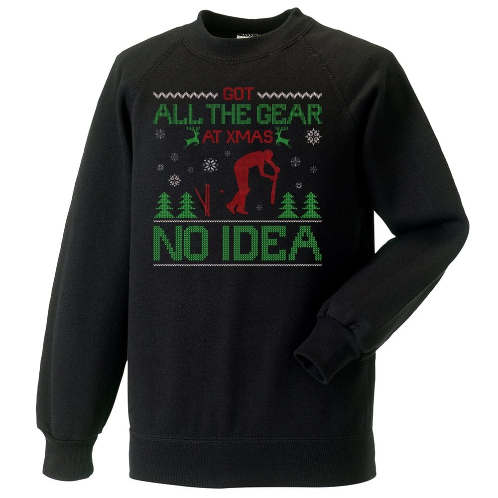 Got All The Gear At Xmas No Idea Christmas Jumper Mens From Punk Cricket Uk