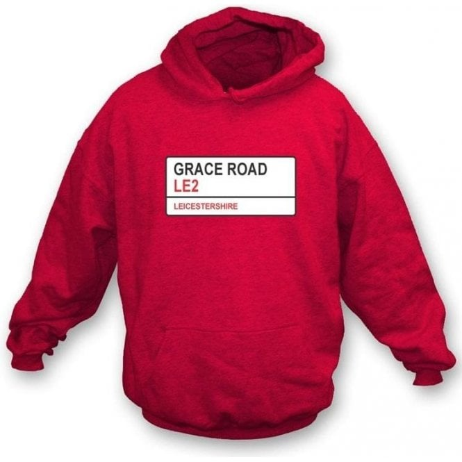 Grace Road LE2 Hooded Sweatshirt (Leicestershire)
