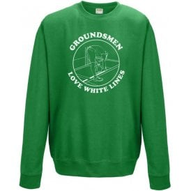 Groundsmen Love White Lines Sweatshirt