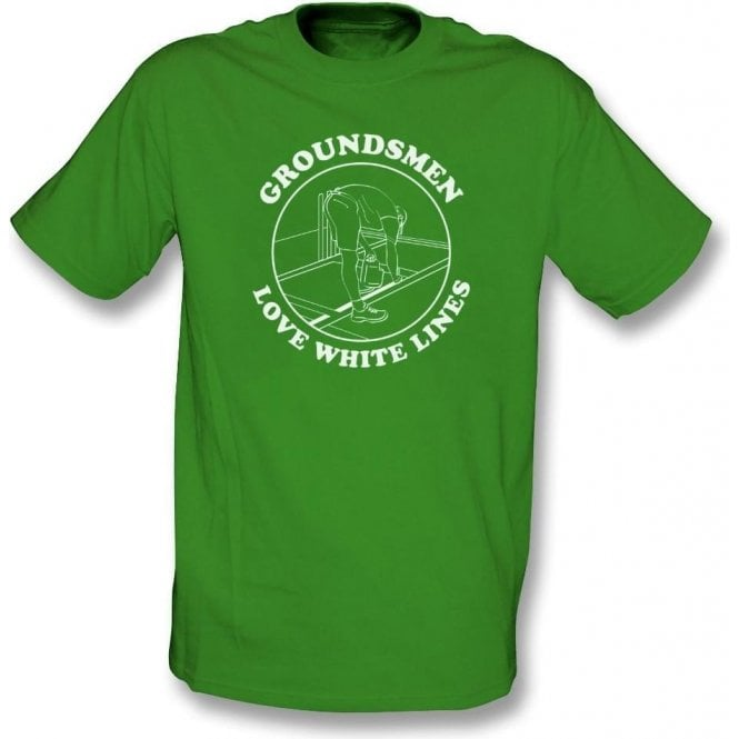 Groundsmen Love White Lines T-Shirt