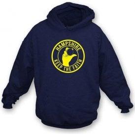 Hampshire Keep The Faith Hooded Sweatshirt