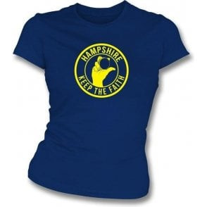Hampshire Keep The Faith Women's Slimfit T-shirt