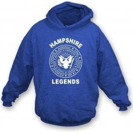 Hampshire Legends (Ramones Style) Hooded Sweatshirt