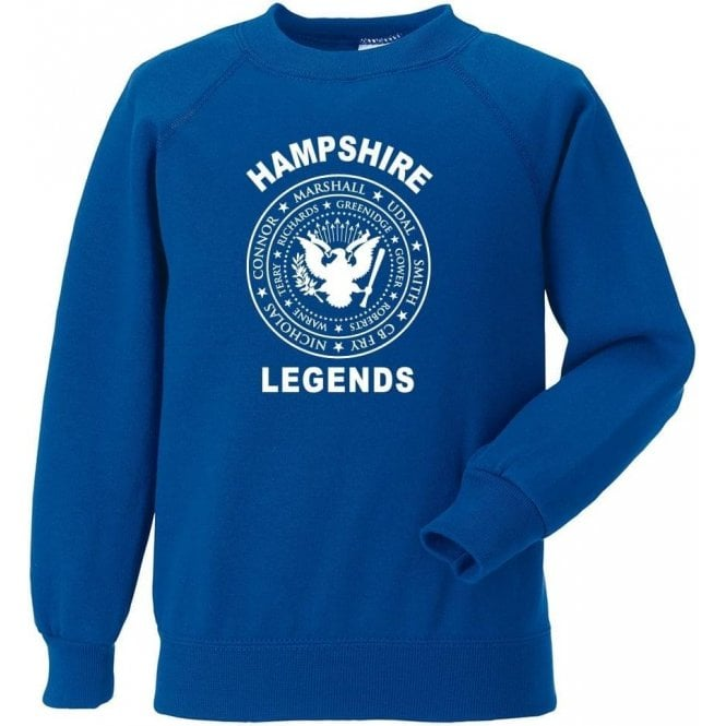 Hampshire Legends (Ramones Style) Sweatshirt