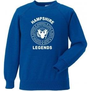 Hampshire Legends (Ramones Style) Sweatshirt