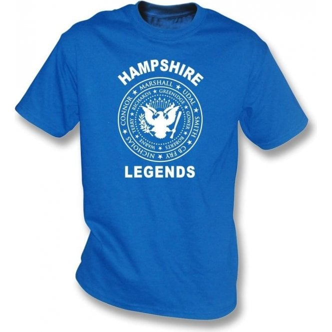 Hampshire Legends (Ramones Style) T-Shirt
