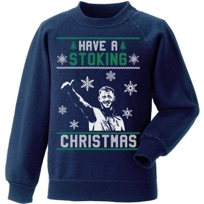Have A Stoking Christmas Kids Sweatshirt