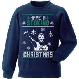 Have A Stoking Christmas Kids Jumper