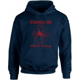 Headingley 1981: Ian Botham 149 Not Out Hooded Sweatshirt