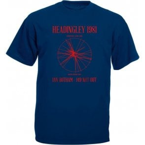 Headingley 1981: Ian Botham 149 Not Out T-Shirt