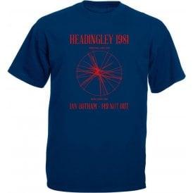 Headingley 1981: Ian Botham 149 Not Out T-Shirt