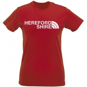 Herefordshire Region Womens Slim Fit T-Shirt