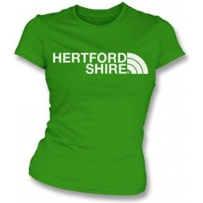Hertfordshire Region Womens Slim Fit T-Shirt