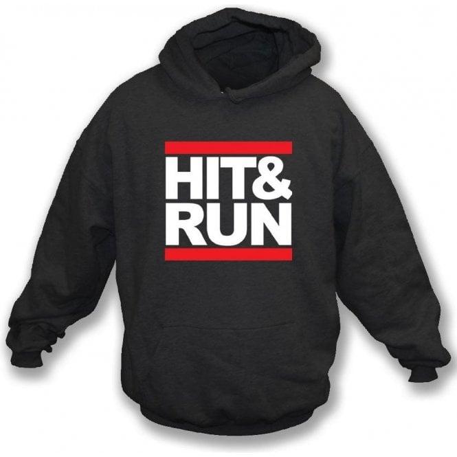Hit & Run (Run-D.M.C. Style) Hooded Sweatshirt