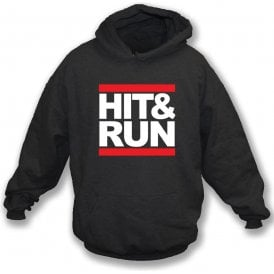 Hit & Run (Run-D.M.C. Style) Kids Hooded Sweatshirt