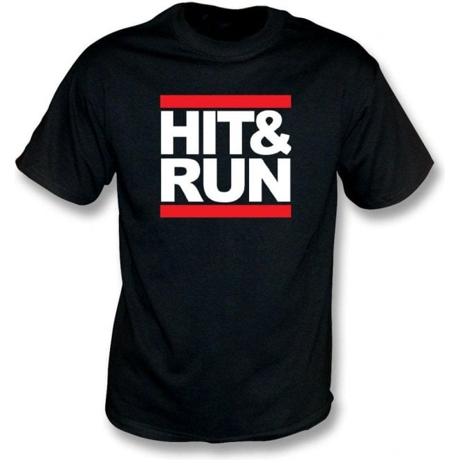Hit & Run (Run-D.M.C. Style) Kids T-Shirt