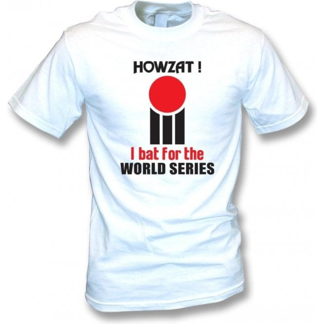 Howzat! Original 70's World Series design as worn by Dennis Lillee T-shirt