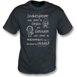 I Am Better At Cricket Vintage Wash T-Shirt