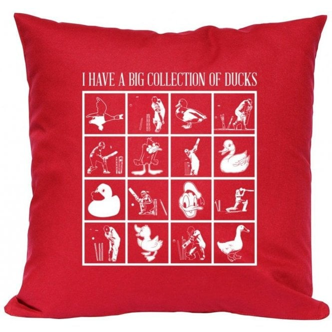 I Have A Big Collection Of Ducks Cushion