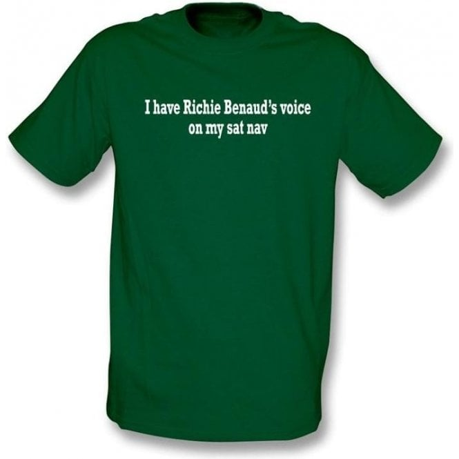 I Have Richie Benaud's Voice On My Sat Nav T-Shirt