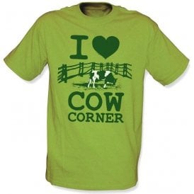 I Love Cow Corner T-shirt