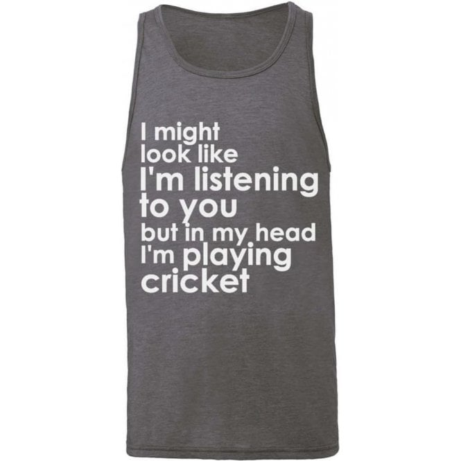 I Might Look Like I'm Listening To You... Men's Tank Top