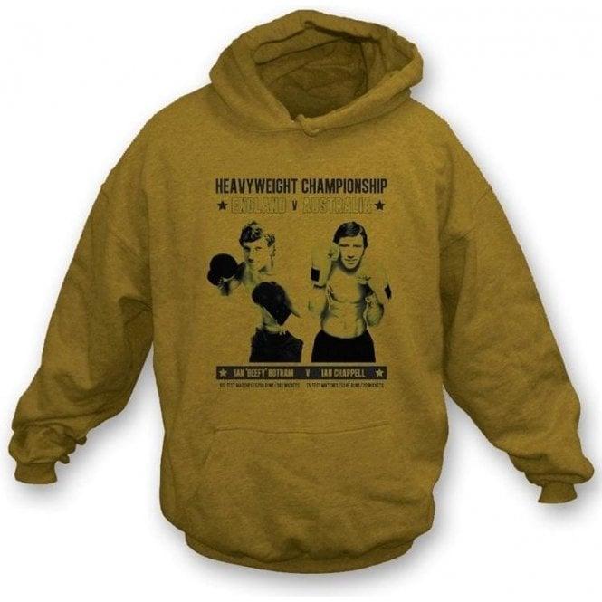 Ian 'Beefy' Botham v Ian Chappell Hooded Sweatshirt