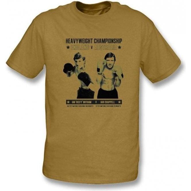 Ian 'Beefy' Botham v Ian Chappell T-shirt