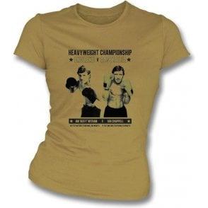 Ian 'Beefy' Botham v Ian Chappell Women's Slimfit T-shirt