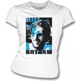 Ian Botham Collage Womens Slimfit T-Shirt