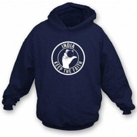 India Keep The Faith Hooded Sweatshirt