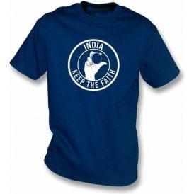 India Keep The Faith T-shirt