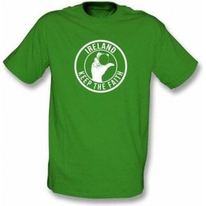 Ireland Keep The Faith T-shirt