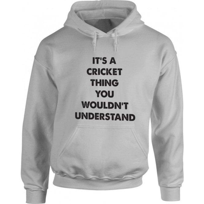 It's A Cricket Thing Kids Hooded Sweatshirt