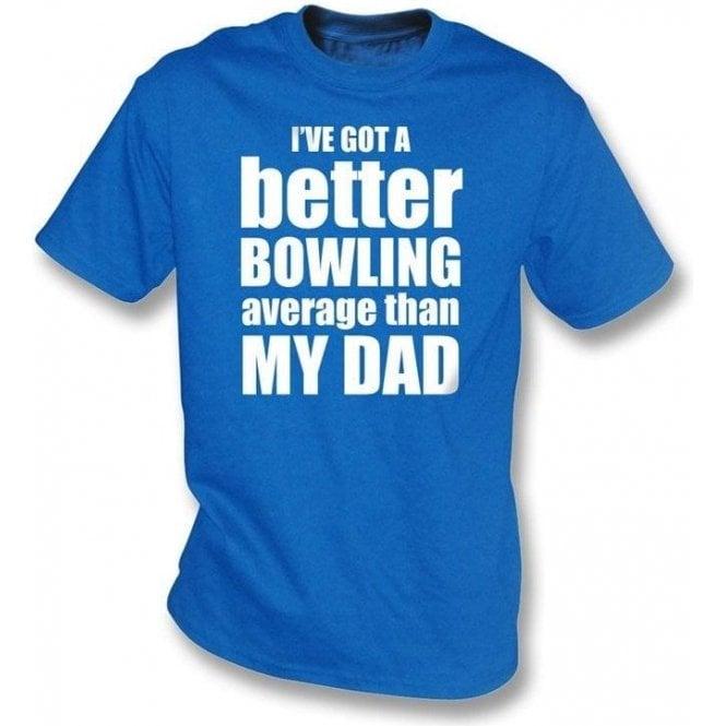 I've got a better bowling average childrens t-shirt