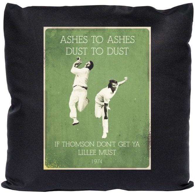 Jeff Thomson/Dennis Lillee (1974) Vintage Poster Cushion