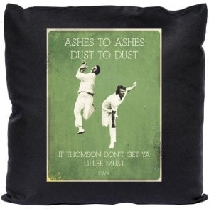Jeff Thomson/Dennis Lillee (1974) Vintage Poster Cushion