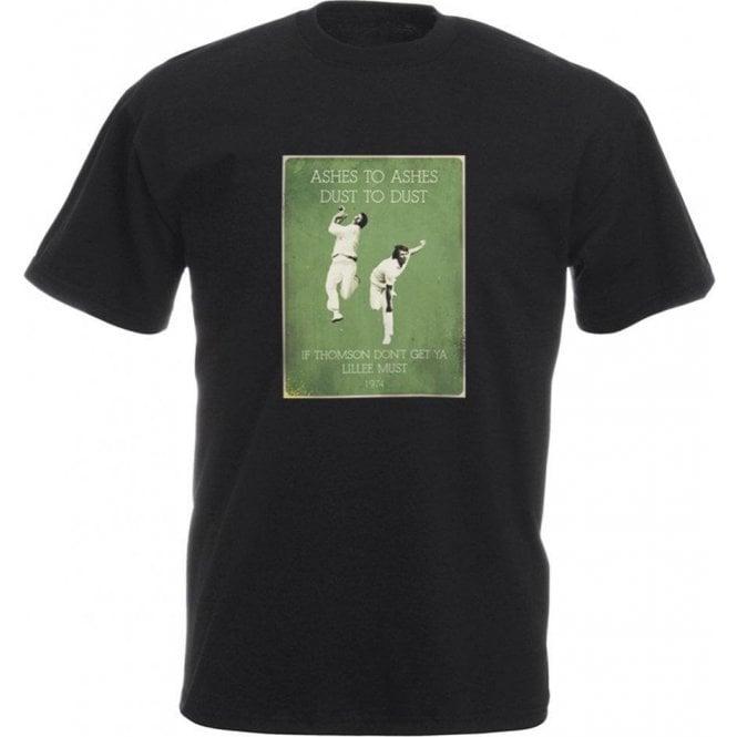 Jeff Thomson/Dennis Lillee (1974) Vintage Poster T-Shirt