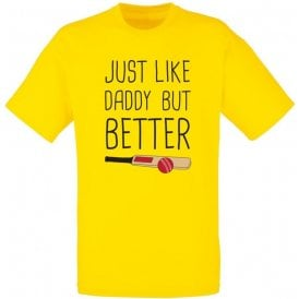 Just Like Daddy Kids T-Shirt