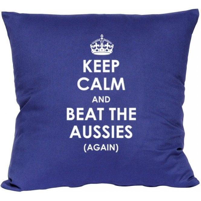 Keep Calm And Beat The Aussies (Again) Cushion