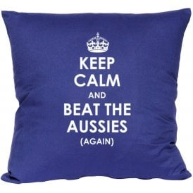 Keep Calm And Beat The Aussies (Again) Cushion