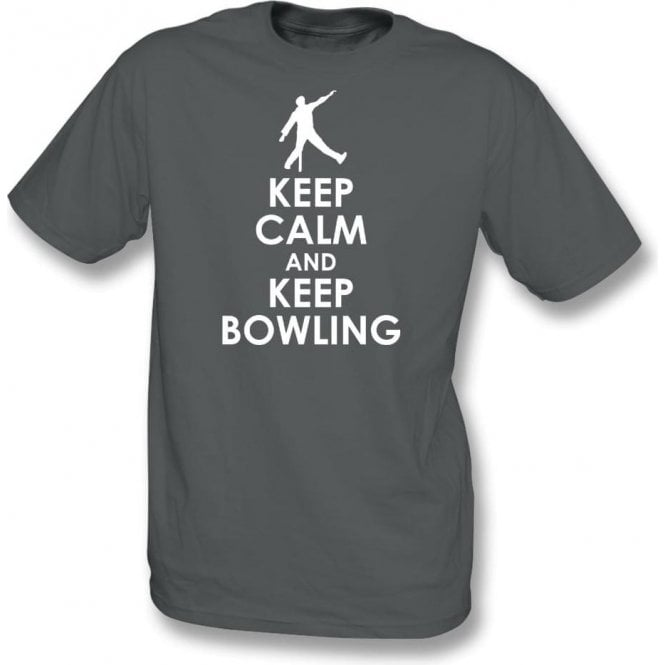 Keep Calm And Keep Bowling T-Shirt