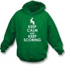 Keep Calm And Keep Scoring Hooded Sweatshirt