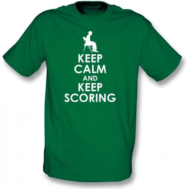 Keep Calm And Keep Scoring Kids T-Shirt