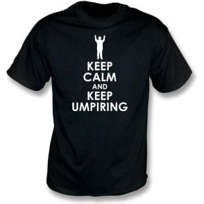 Keep Calm And Keep Umpiring Kids T-Shirt