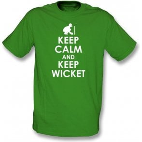 Keep Calm And Keep Wicket T-Shirt
